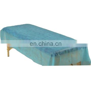 Disposable bed cover/nonwoven bed sheet/non paper disposable bed cover for medical and surgical use mainly in hospitals