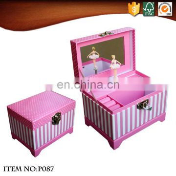 Hot Sale Dancing Ballerina Musical Jewelry Box