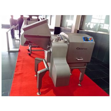 Wide range cube slice cutting machine vegetable processing machinery