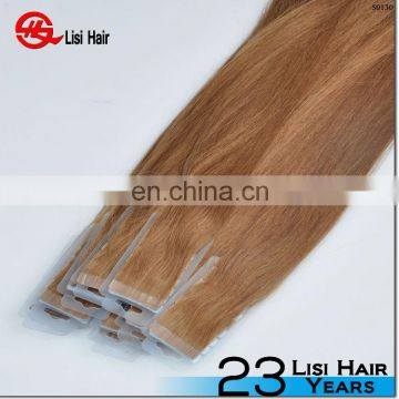 Hot!!! Wholesale Top Grade Full Cuticle Double Sided Factory Price micro tape and hair extension