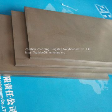 tungsten carbide plate, cemented carbide sheet