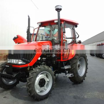 100hp wheel tractor, hydraulic/front loader/backhoe/implements