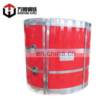 Hot sale PPGI/GI color coated galvanized steel coil from China mainland