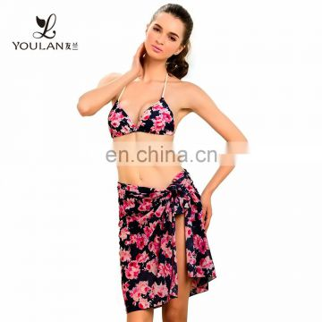 Digital Print Resort Dress High Quality girl transparent sex bathing suits