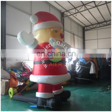 Christmas santa inflatable, inflatable Christmas santa shape, inflatable Xmas shape