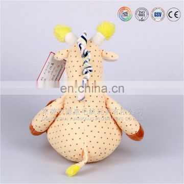 ICTI factory CE standard High Quality Baby Soft Toy Giraffe