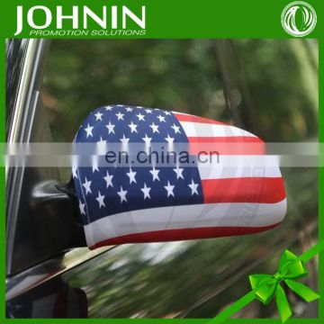 2016 OEM Serive Top Quality Promotional Car Mirror Cover Flag