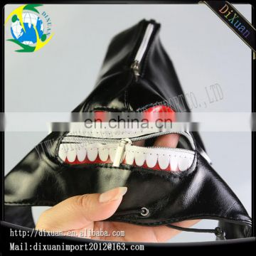 China Manufactuer High Quality Leather Party Japan cosplay Tokyo ghoul mask