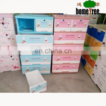 Hot Saling 5 Layers Cheap Shoe Plastic Storage Cabinets With Lock