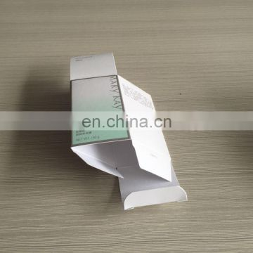 Nice design good price flat pack packaging box for cream