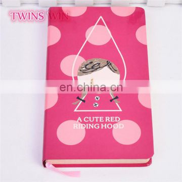 Colombia top sale school stationery items list with price wholesale cartoon nice paper notebooks with company logo