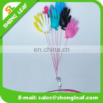 glove shape ballons latex balloon air ball made in chian colorfull