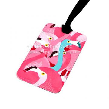 Sublimation Fabric Luggage Tag Rectangle