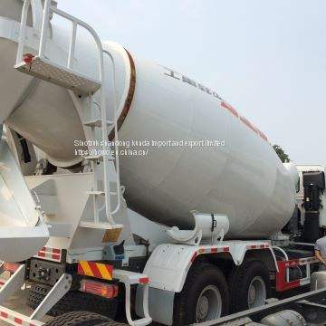 Sinotruk HOWO cement  mix truk for sale