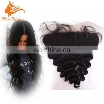 Hair Factory Price Top Quality Ear To Ear Remy Hair Lace Frontals 13x6 Front Hair Piece