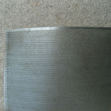 Perforated Steel Mesh Galvanised Mesh Panels Round Hole Stainless Steel