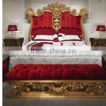 European Italy Style Bright Color Royal Wedding Bedroom ...