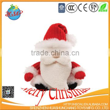 Santa Clause Christmas plush toy/christmas factory direct sale good quality plush toy
