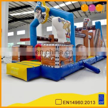 2015 AOQI new design durable luxury inflatable obstacle game AQ01250 for commercial
