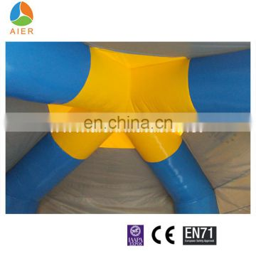 0.45 mm PVC customized inflatable tent small type tent