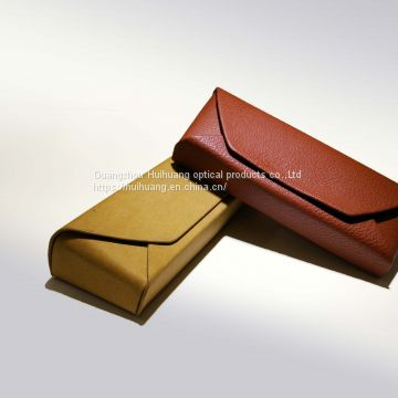 Leather fashion eyeglass bag, can be customized for the sun glasses