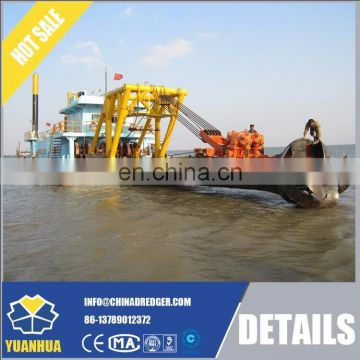 18 inch 400m3/h cutter suction dredger, low price sand dredger