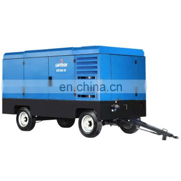 Factory supply portable pump tank air compressor for water well drilling