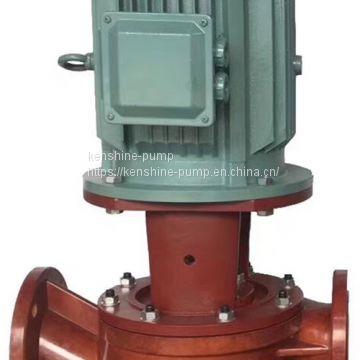 SL Vertical fiberglass pipeline centrifugal pump
