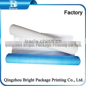 exam table paper roll/paper and PE Disposable Bed Cover Roll for beatuty salon,Professional Manufacture disposable couch cover