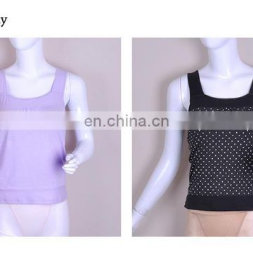 T Shirt Black Cotton Women Sports Camisole