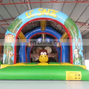 2015 new fashion commercial monkey bounce castle NB034