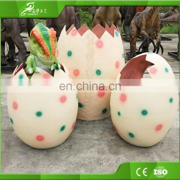 KAWAH manufactory animatronic baby dinosaurs eggs for event exhibition