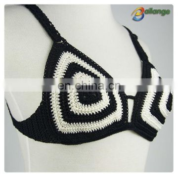 Bailange 2015 Newest lady unique crochet bra Bra Clothing Type for swimming wear