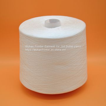 China supplier 100 yizheng 20s/2 polyester yarn dyeing tube