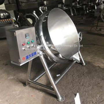 Gas high temperature sugar pan