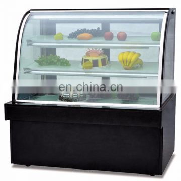 380L Electric Cake Display Refrigerator Cake Showcase Chiller Philippines Price Cake Showcase For Sale