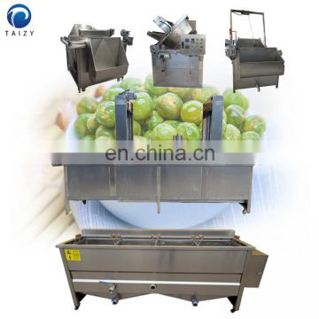 Continuous frying machine Banana chips frying machine Potato crisp continuous fryer machine