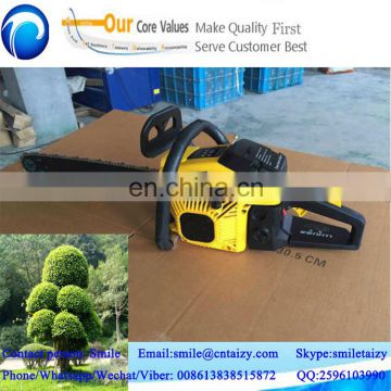 factory prices big power fast cutting petrol chainsaw with top quality