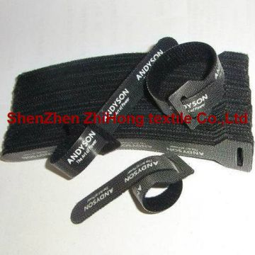 Cable Ties Nylon Reflective Stripes Hook And Loop Closure
