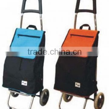 Promotion Foldable Fabric Shopping Trolley