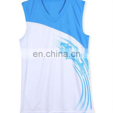 China OEM quick dry basketball jersey