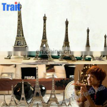 32cm Height Romantic Metal Eiffel Tower 3D Model Gift for