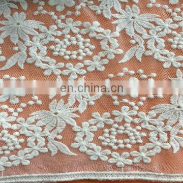 Mesh Fabric Embroidery Lace for Women Garment
