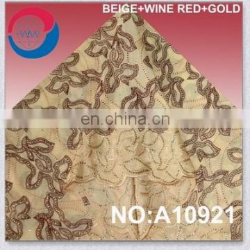 African Voile Lace Fabric For Promotion