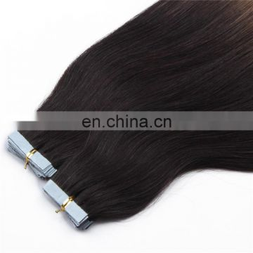 Top quality double drawn tape hair extensions cheap malaysian hair products tape on hair