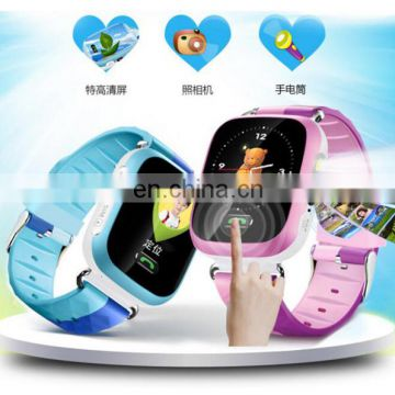 High quality cartoon watch smart watch tracker kids gps watch