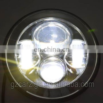 chinese supplier 30w accessories motorcycle 7 inch LED light for harley davidson motorcycles