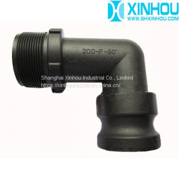 90 degree Pipe Coupling Joint Quick Camlock