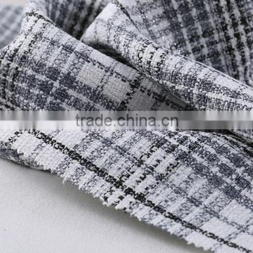 New Fashion Customized knitted polyester elastic fabric price per kg for home textile