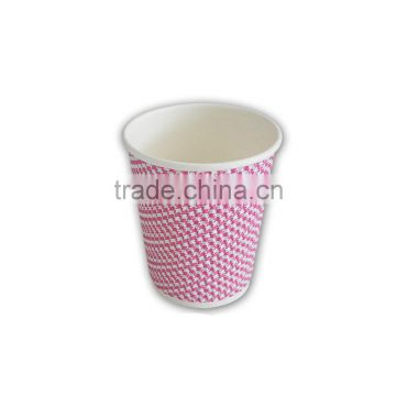 12oz hot drinking ripple wall kraft paper cups